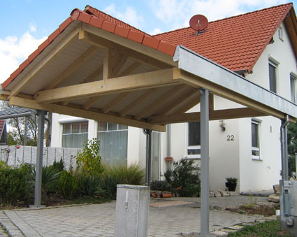 carport anbau f r betongaragen pictures to pin on pinterest. Black Bedroom Furniture Sets. Home Design Ideas